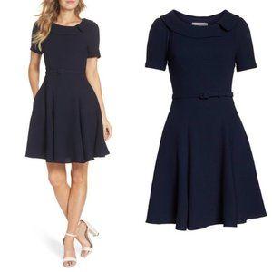 Gal Meets Glam Navy Thea Dress